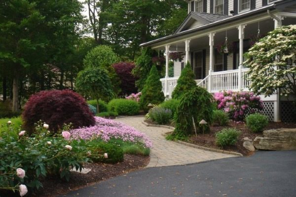 Landscape Design for Front of Home