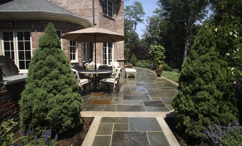 Landscape Construction of Beautiful Patio