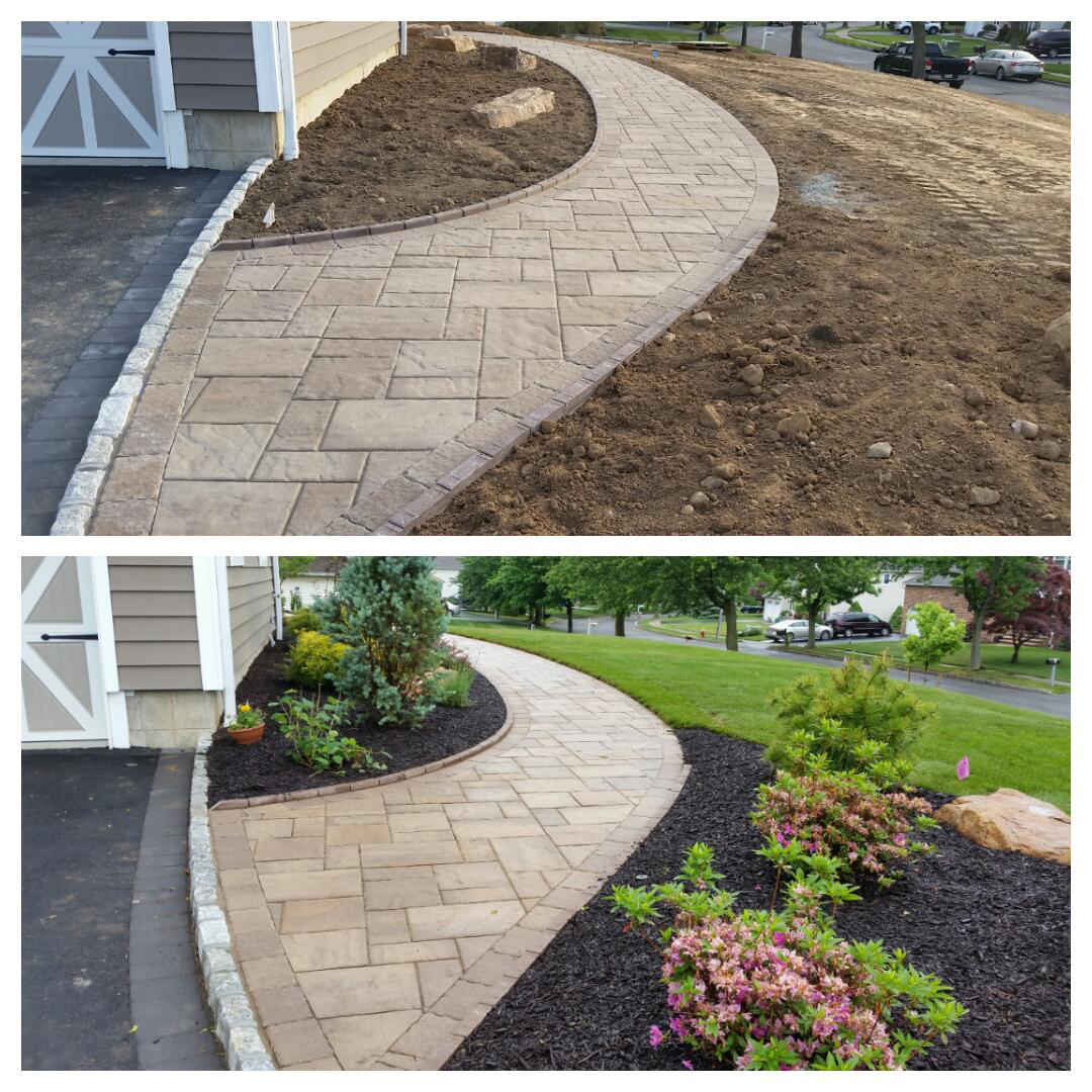 Cambridge Pavers - Succasunna, NJ - Before / After