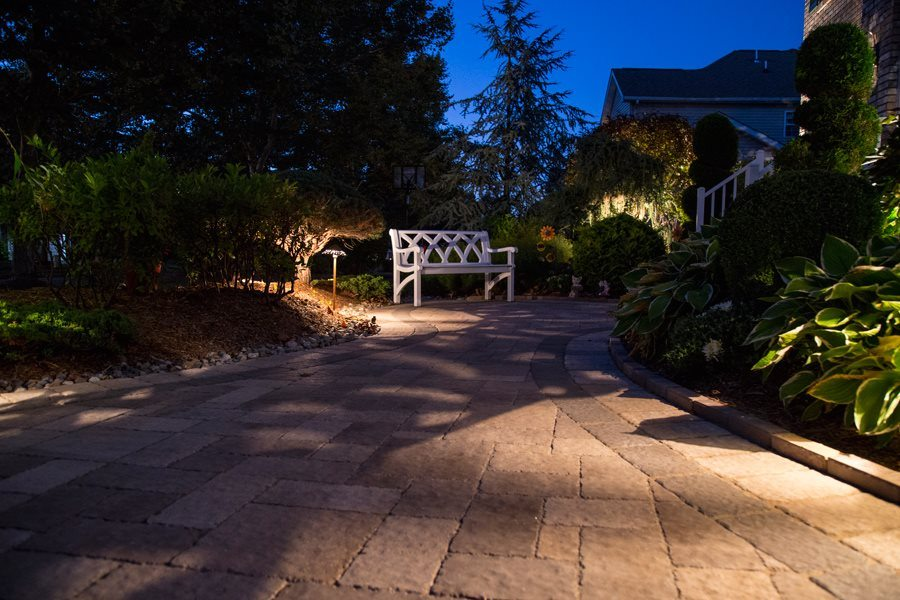 Driveway Entrance Landscaping Curb Appeal
